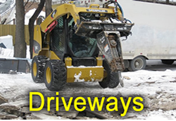 R.EN Demolition Driveway Demolition and removal, Concrete or paver Driveways, R.EN Demolition does it all