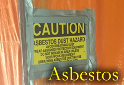 R.EN Demolition are trained in Asbestos 1,2,3 removal